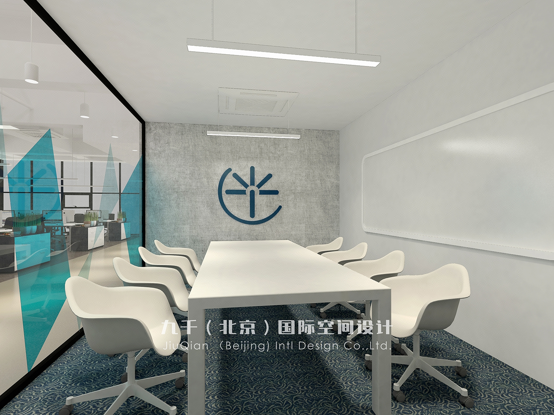 【九千国际】高端办公室loft工作室室内设计装修设计效果图