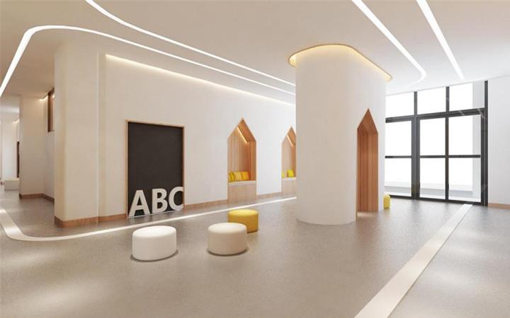 教育培训机构装修设计幼儿园学校早教中心方案布局3d效果图设计