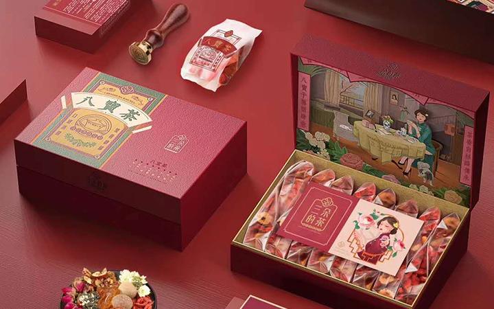 食品包装设计零食饮料网红小吃电商创意时尚高端定制包装袋礼盒