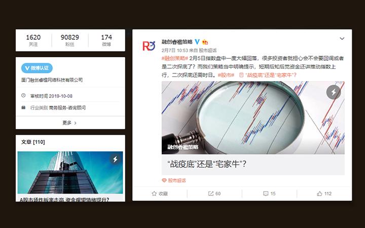 争流品牌新浪微博代运营包月撰写营销推广