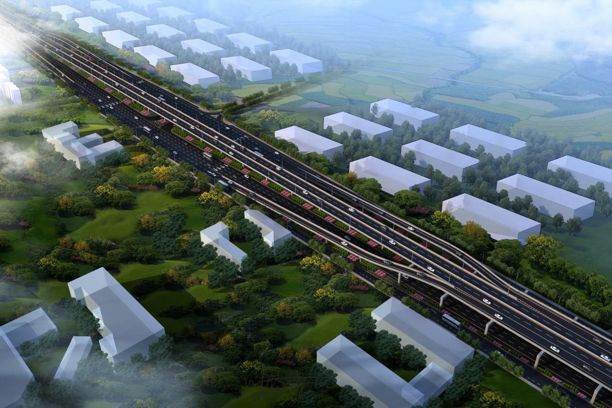 鸟瞰图3D建模 建筑效果图 建筑园林景观 效果图制作全景VR