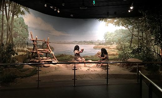 壁画设计与绘制,博物馆场景设计与制作