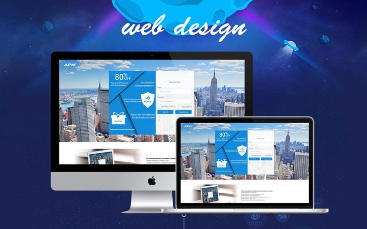 HTML5网站响应式网站网页制作企业网站制作