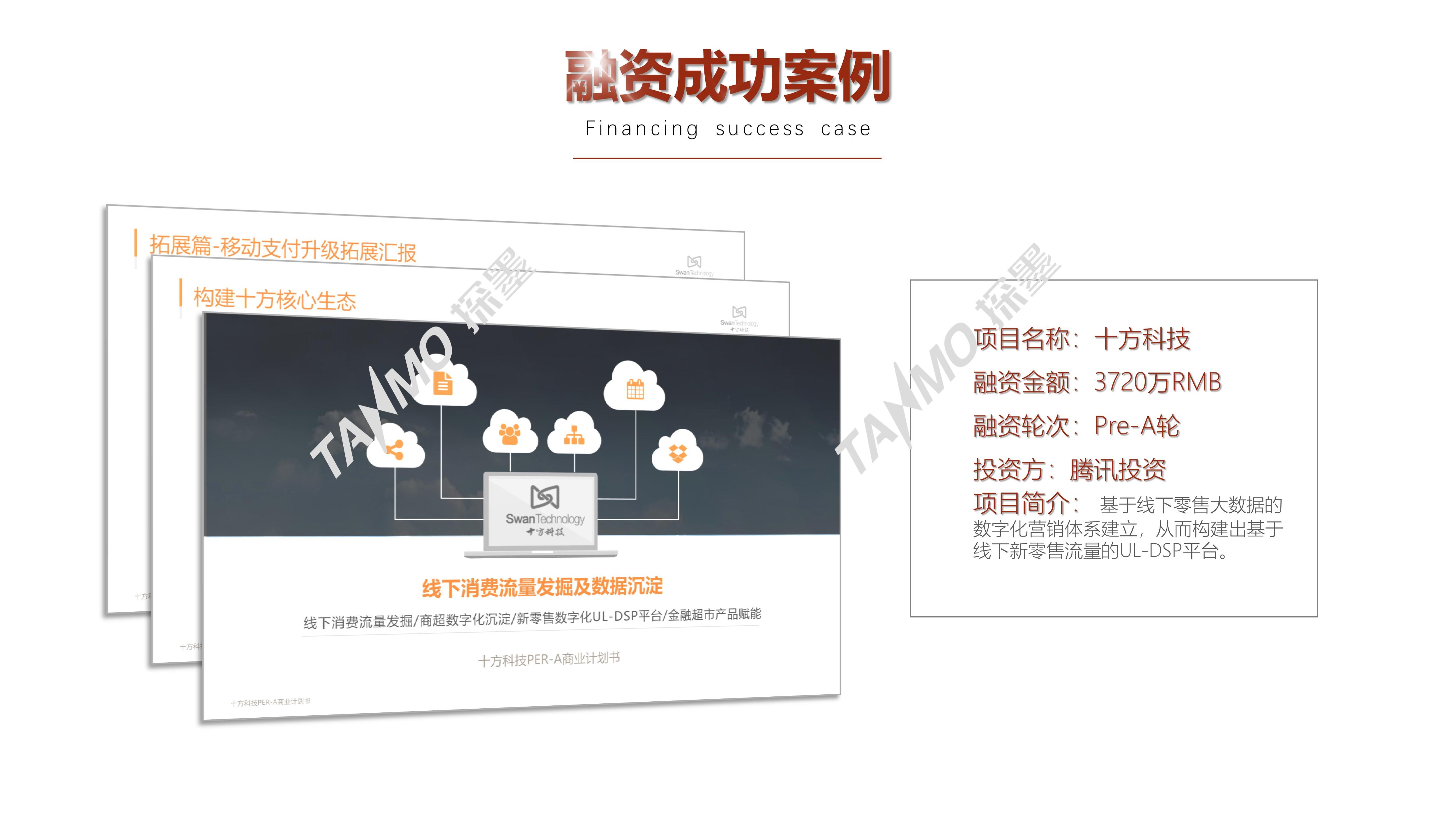 融资商业计划书PPT创业计划书路演BP代写招商策划方案