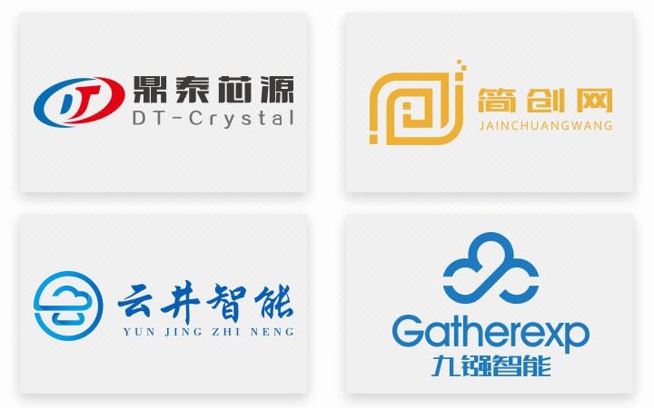 原创logo设计餐饮公司房地产文化商标logo互联网酒店科技