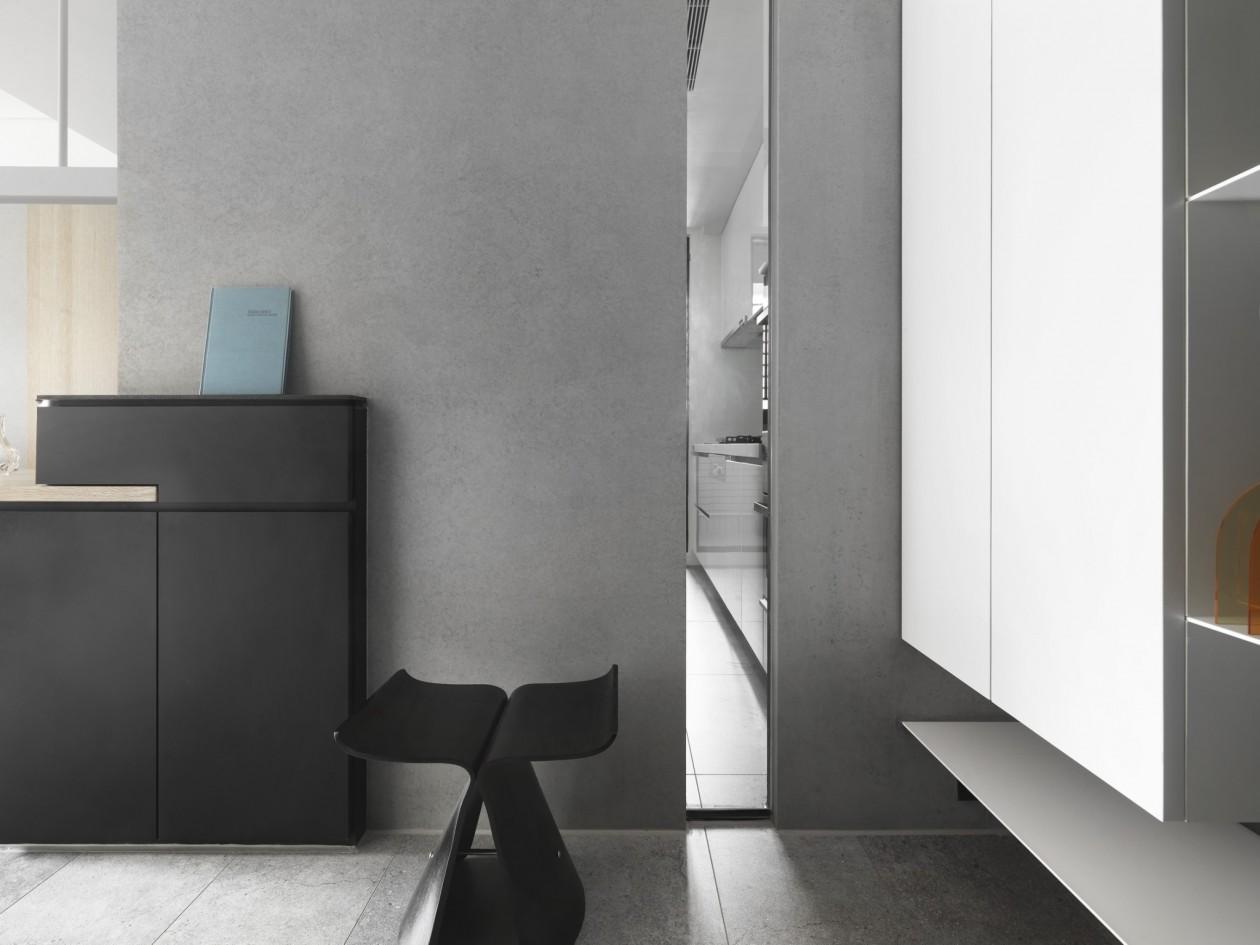 现代风格家装平面布局效果图施工图软装搭配全案设计