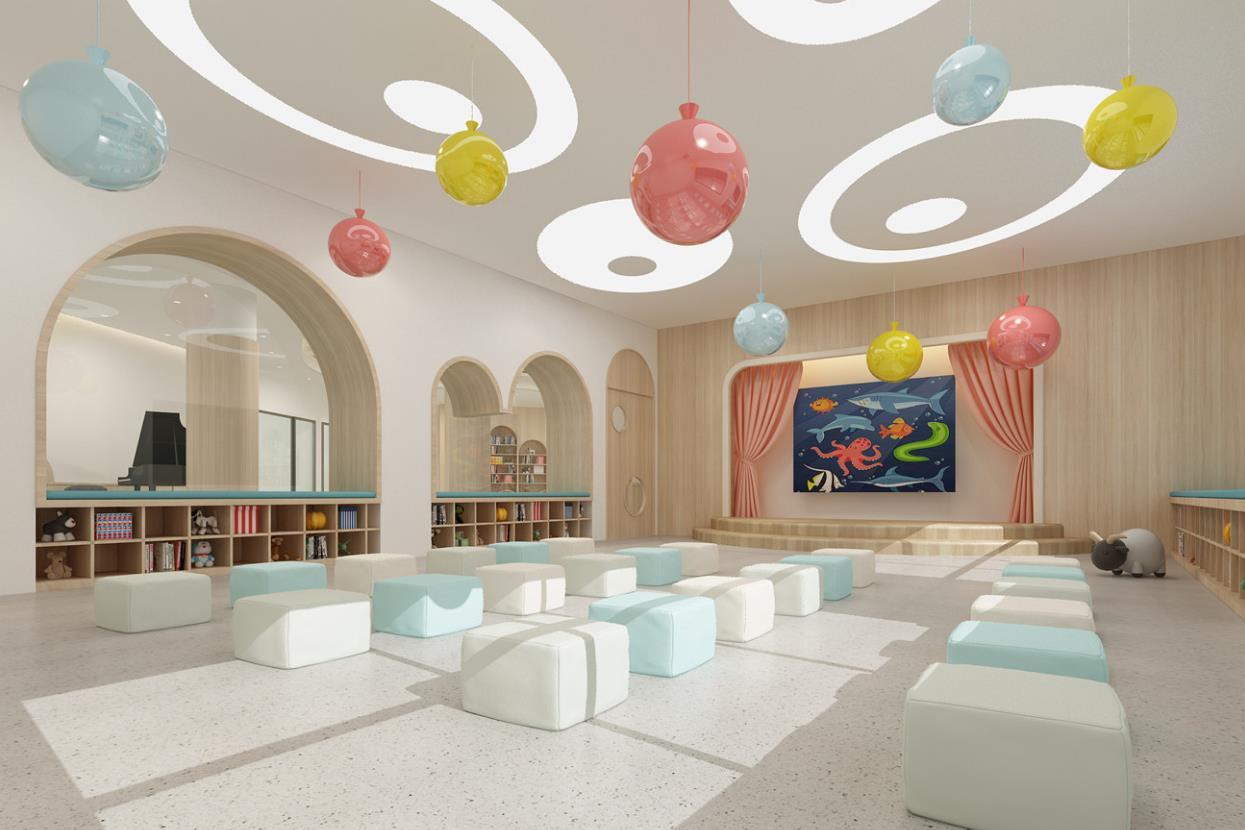培训班设计  幼儿文化教育 学校 图书馆 舞蹈培训中心效果图