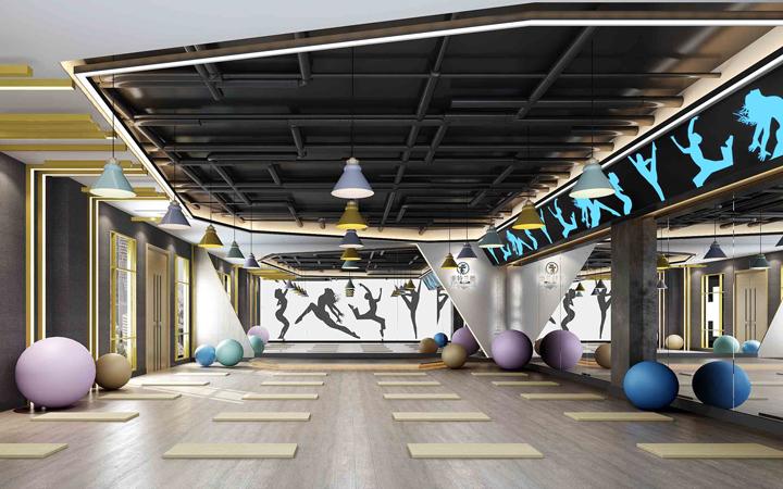 休闲健身房空间设计室内设计茶楼网咖设计洗浴会所设计美发设计