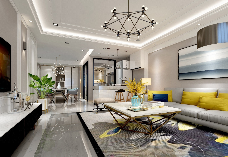 【朱柳英】室内装修设计新房装修设计效果图设计家装设计自建房
