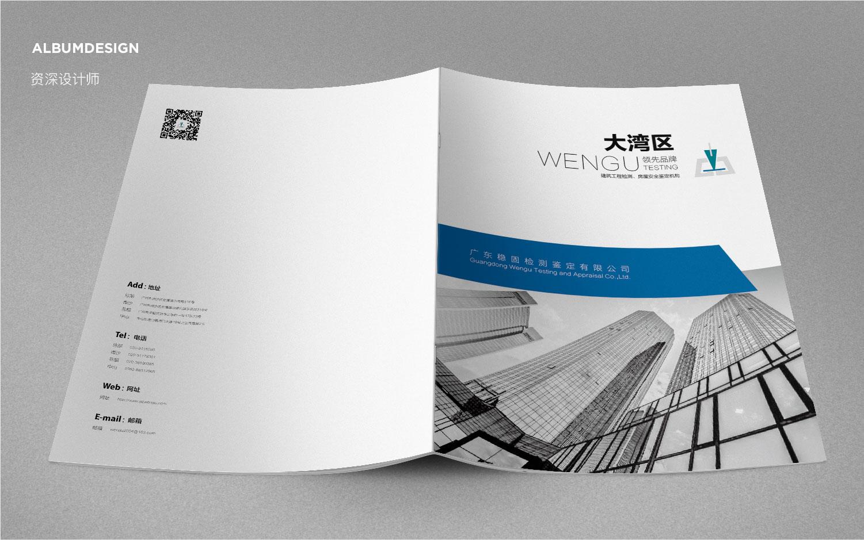 资深画册设计招标书设计招商画册IT行业说明书品牌折页企业内刊