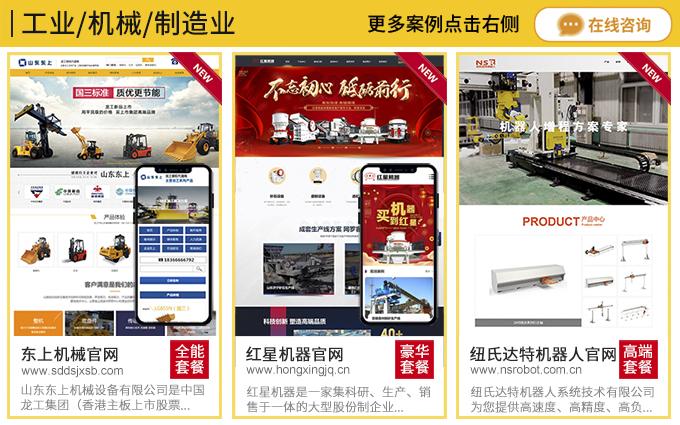 PC+手机站 P2P网站制作外贸网站建设门户网站视频网站设