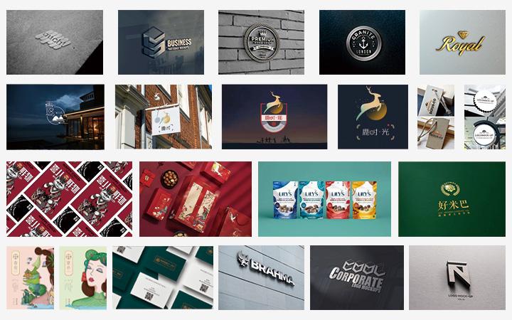 品牌设计文件设计文件袋设计海报设计图片处理详情页首页彩页设计