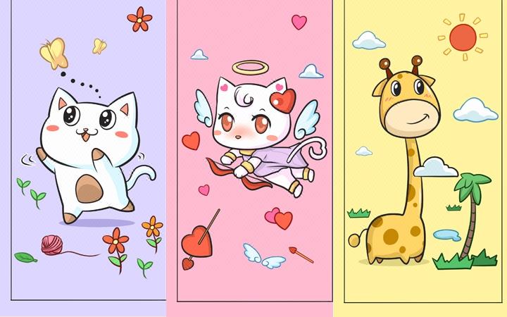 【卡通图案】手机壳雨伞鼠标垫T恤滑板水杯母婴用品创意生活用品