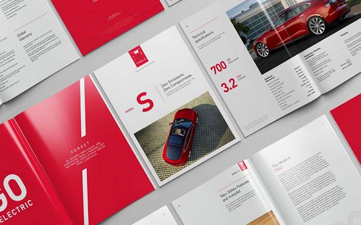 画册设计产品手册厦门公司宣传册书籍封面排版工业册子企业三折页