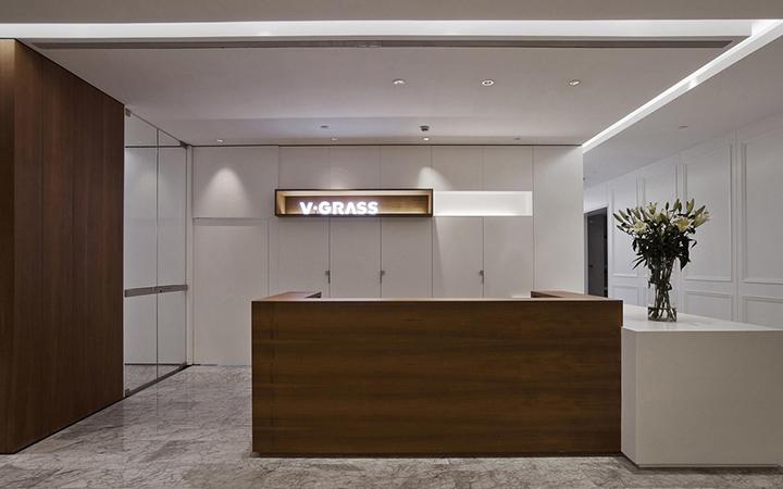 前台背景墙文化墙室内装修效果图设计文化走廊艺术展厅效果图装饰