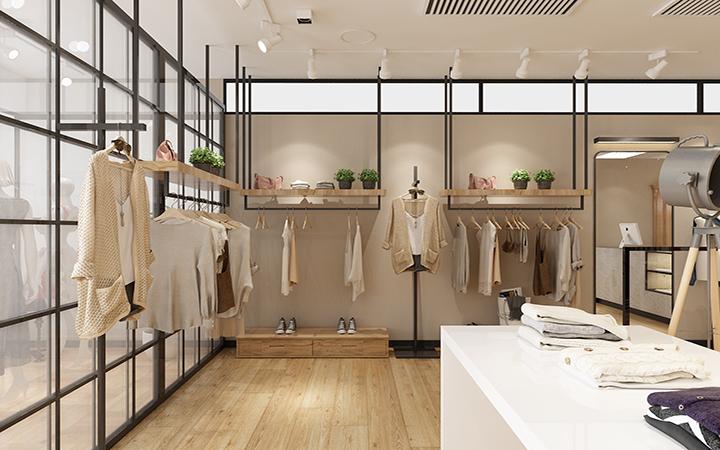 服装店装修设计,专卖店设计,男装女装设计,连锁店铺装修设计