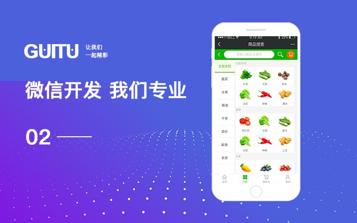 微信公众号平台小程序定制开发分销商城餐饮外卖家政拼团健身预约