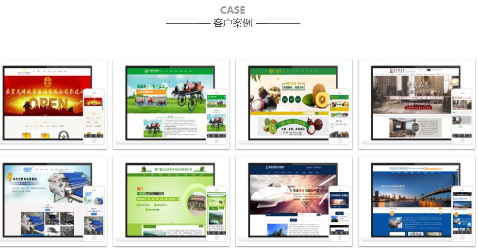 网站制作,模板网站,H5网站,单页面网站,广告投放落地页网站