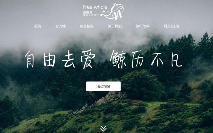 响应式旅游旅行社类网站旅游类网站模板网页定制设计