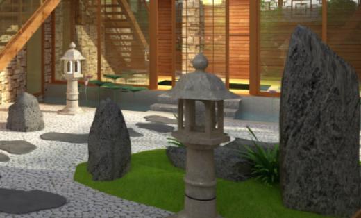 日式屋顶花园设计