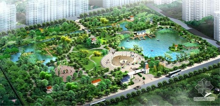 农业园产业园乡村度假区办公楼规划景观建筑施工效果图设计