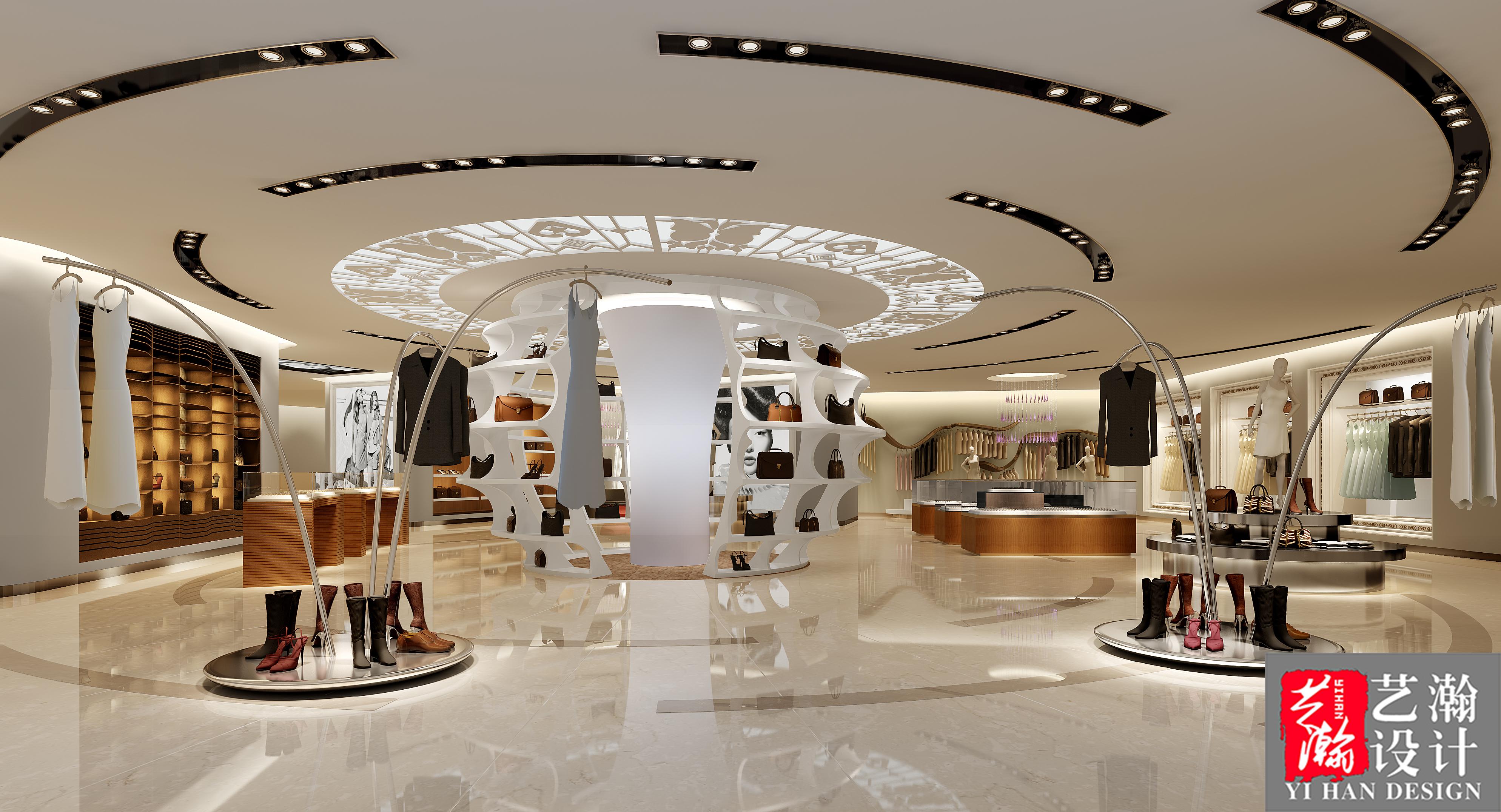 服装店装修设计品牌定位设计师男装女装店童装店铺内衣店包包设计