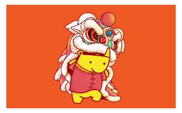 卡通logo手绘设计公仔玩偶设计形象打造IP形象动漫人物商标