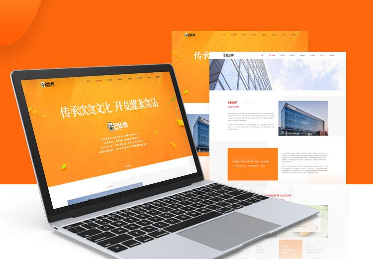 H5响应式网站-高端精美企业网站定制自适应营销型网站开发