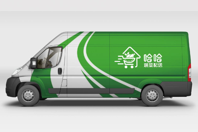 电子零售百货公司品牌产品餐饮LOGO商标卡通logo平面设计