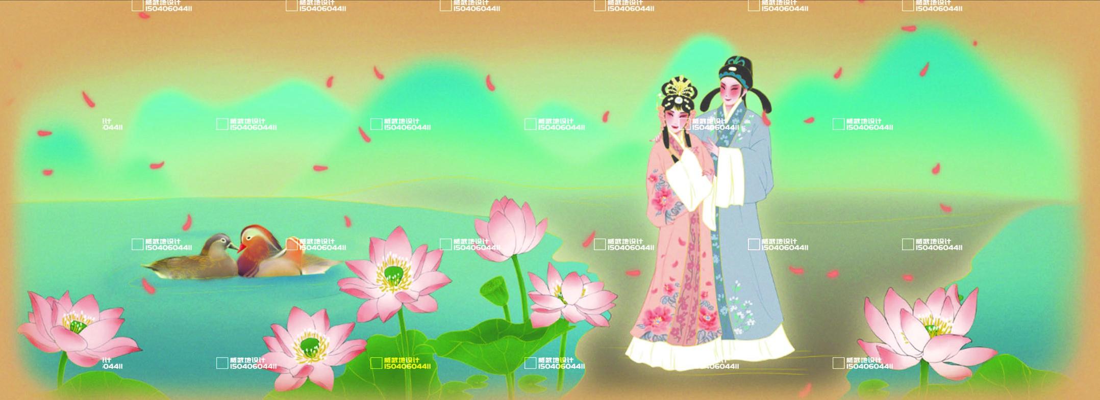 _新媒体插画-故事配图-童书绘本-视频 包装 服装插画文创设计11