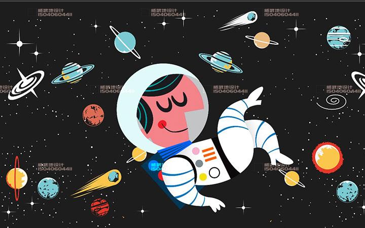 _新媒体插画-故事配图-童书绘本-视频 包装 服装插画文创设计3