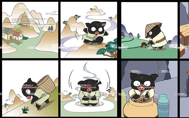 _新媒体插画-故事配图-童书绘本-视频 包装 服装插画文创设计5