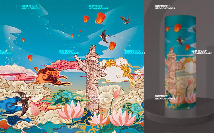 _新媒体插画-故事配图-童书绘本-视频 包装 服装插画文创设计7