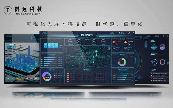 软件界面设计|大屏展示|控制屏设计|电视屏幕设计|终端机界面