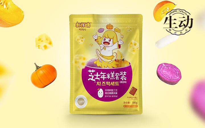 【睛灵品牌】酸奶麦片包装袋设计锁具包装盒设计太极包装设计案例