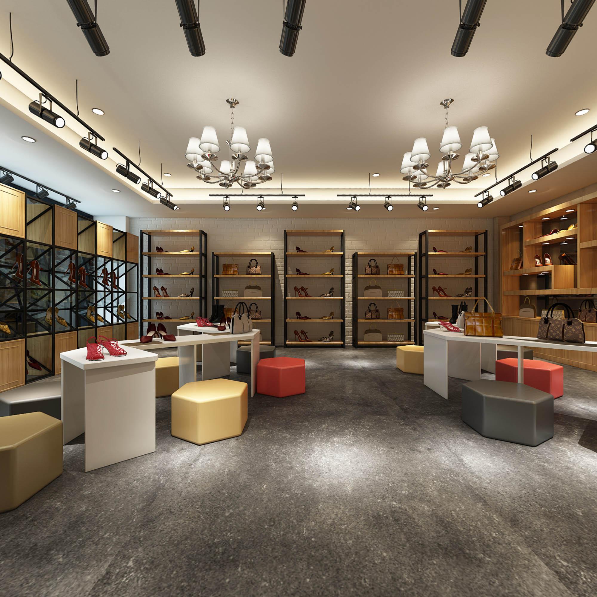 室内设计VR效果图设计室内装修连锁店铺办公室空间设计家装设计