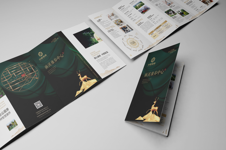 企业手册楼书公司画册设计宣传册产品样本设计封面设计折页封套