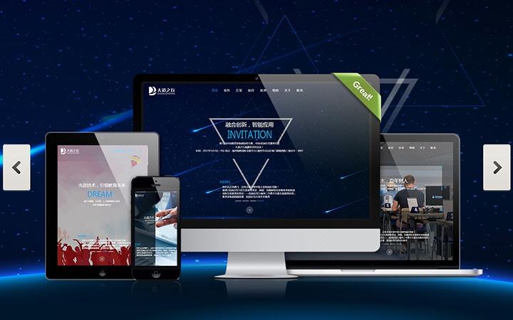 网页设计网站UI设计电商网站建设商城建设门户网站开发教育外贸