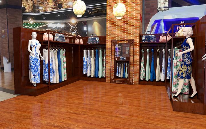 服装店女装男装休闲潮牌时尚童装母婴店装修设计陈列设计橱窗设计