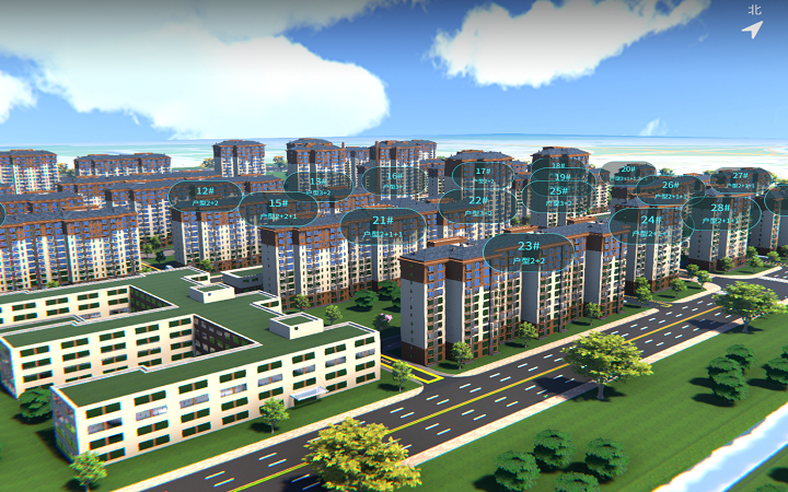 三维建模/智慧园区/场景建模/城市设备工厂3dmax建模渲染