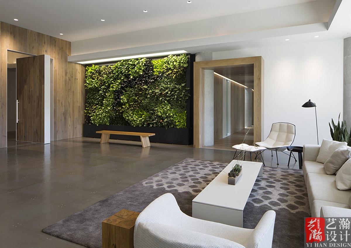办公室设计装修效果图设计会议室大厅会议室前台接待背景墙效果图