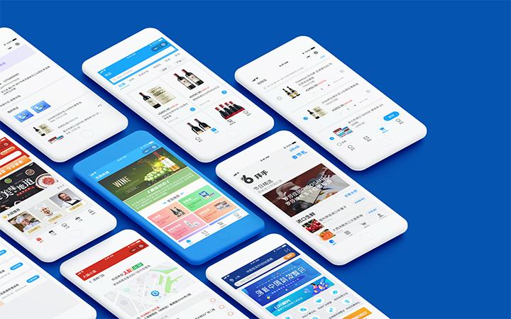 网站网页UI设计移动手机页面制作界面设计APPUI前端建设计