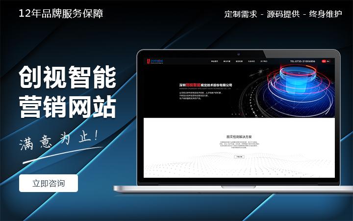 营销型企业网站建设 网站定制开发 网站制作 网站设计 科威鲸