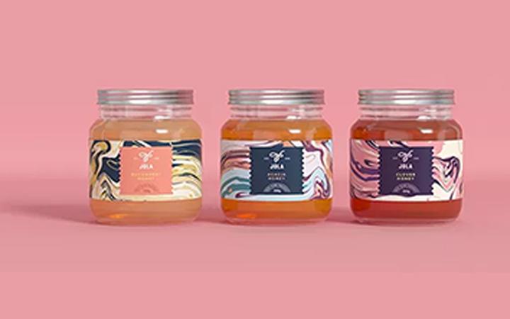 外包装蜂蜜包装印刷产品创意包装设计瓶贴白酒化妆品水果大米包装
