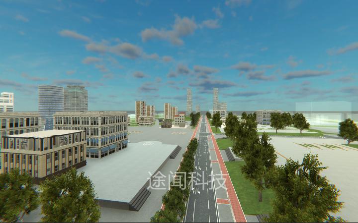 三维建模/3D场景建模/3D室外VR建筑模型3D场景制作