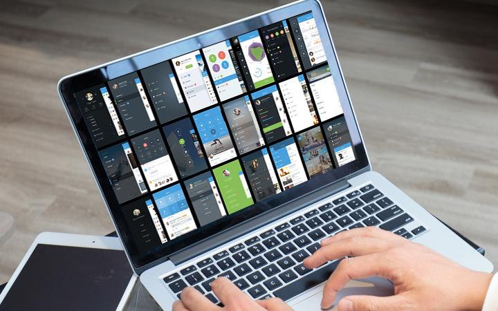 UI设计代做手机游戏软件网页APP界面交互设计H5微信小程序