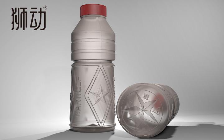 原创塑料矿泉水啤酒饮料瓶型形工业产品3D开模具stp外观设计