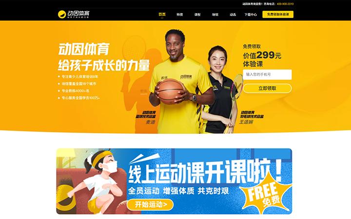 网站改版重新设计网站美化更新优化