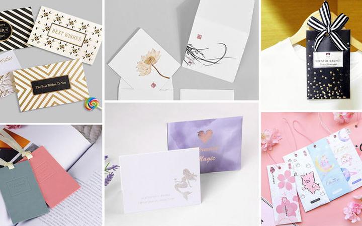 创意名片设计定制个人公司名片会员卡购物卡片工牌设计制作排版