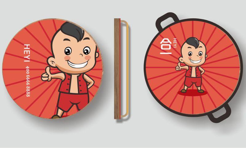 兰灵视觉卡通LOGO吉祥物企业产品卡通形象表情微信表情设计